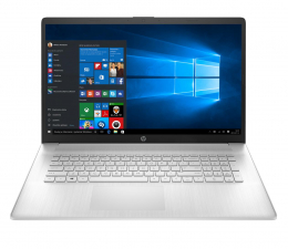 """Notebook / Laptop 17,3"""" HP 17 i3-1115G4/8GB/256/Win10 Silver"""
