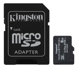 Karta pamięci microSD Kingston 8GB microSDHC Industrial C10 A1 pSLC