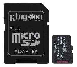 Karta pamięci microSD Kingston 64GB microSDHC Industrial C10 A1 pSLC