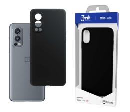 Etui / obudowa na smartfona 3mk Matt Case do OnePlus Nord 2 czarny