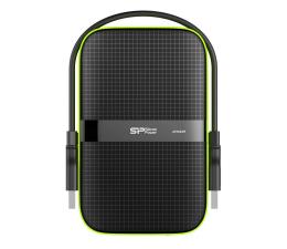 Dysk zewnętrzny HDD Silicon Power  Armor A60 4TB USB 3.2 Gen. 1 Czarno-Zielony