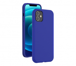 Etui / obudowa na smartfona BigBen SoftTouch Silicone Case do iPhone 12/12 Pro blue