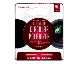 Filtr fotograficzny Marumi MCPL FIT + SLIM 82mm
