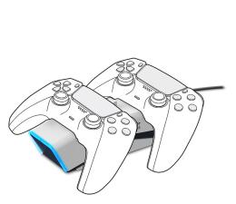 Uchwyt/podstawka do konsoli SpeedLink Stacja dokująca TWINDOCK (PS5)