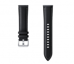 Pasek / bransoletka Samsung  Stitch Leather dla Galaxy Watch czarny