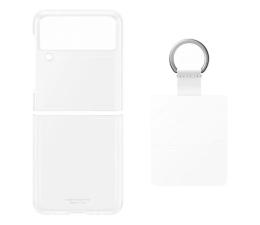 Etui / obudowa na smartfona Samsung Clear Cover z pierścieniem do Galaxy Flip3