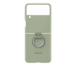 Etui / obudowa na smartfona Samsung Silicone Cover z pierścieniem do Galaxy Flip3