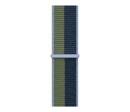 Pasek / bransoletka Apple Opaska Sportowa do Apple Watch błękitny/zielony