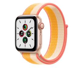 Smartwatch LTE Apple Watch SE 40/Gold Aluminium/White Sport Loop LTE
