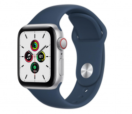 Smartwatch LTE Apple Watch SE 40/Silver Aluminium/Abyss Blue Sport LTE