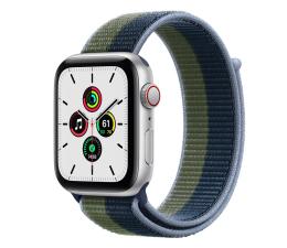 Smartwatch LTE Apple Watch SE 44/Silver Aluminium/Moss Green Loop LTE
