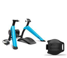Trenażer rowerowy Garmin Tacx Boost - zestaw z czujnikiem prędkości