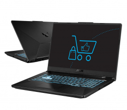 "Notebook / Laptop 17,3"" ASUS TUF Gaming F17 i5-11400H/16GB/960 RTX3050Ti"
