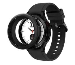 Etui / obudowa na smartwatcha Spigen Liquid Air do Galaxy Watch 4 Classic czarny