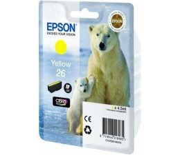 Tusz do drukarki Epson T2614 yellow 4,5ml (C13T26144010)