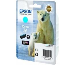 Tusz do drukarki Epson T2612 cyan 4,5ml (C13T26124010)