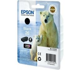 Tusz do drukarki Epson T2601 black 6,2ml (C13T26014010)