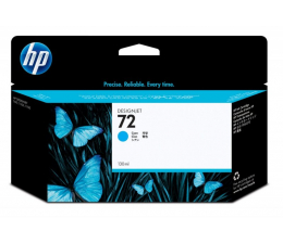 Tusz do drukarki HP 72 cyan 130ml