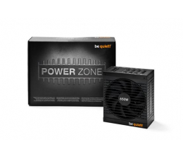Zasilacz do komputera be quiet! Power Zone 650W 80 Plus Bronze