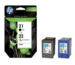 Tusz do drukarki HP Zestaw tuszów 21+22 (C9351AE+C9352AE)