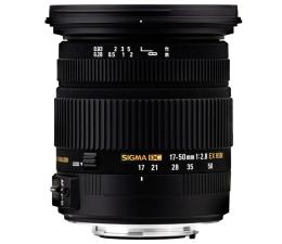 Obiektyw zmiennoogniskowy Sigma 17-50mm F2.8 EX DC OS HSM Canon