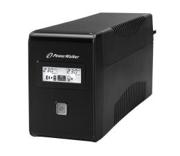 Zasilacz awaryjny (UPS) Power Walker LINE-INTERACTIVE (650VA/360W, 2x Schuko, LCD, AVR)