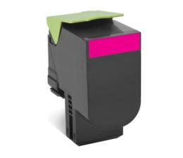 Toner do drukarki Lexmark 802SM magenta 2000 str.