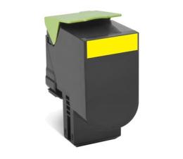 Toner do drukarki Lexmark 802SY yellow 2000 str.