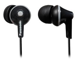 Słuchawki przewodowe Panasonic RP-HJE125E Czarne
