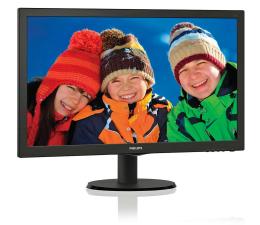 "Monitor LED 24"" Philips 243V5LSB/00"