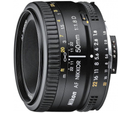Obiektyw Nikon Nikkor AF 50mm f/1.8D