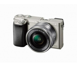Bezlusterkowiec Sony ILCE A6000 + 16-50mm srebrny
