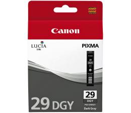 Tusz do drukarki Canon PGI-29DGY dark grey (do 670 zdjęć)