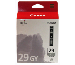 Tusz do drukarki Canon PGI-29GY grey (do 790 zdjęć)