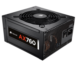 Zasilacz do komputera Corsair AX760 760W 80 Plus Platinum