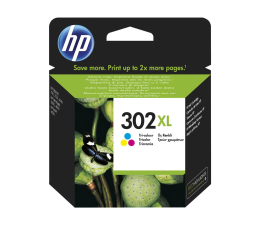 Tusz do drukarki HP 302XL F6U67AE CMY color 330str.