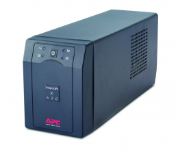 Zasilacz awaryjny (UPS) APC Smart-UPS SC (620VA/390W, 4xIEC, RJ-45, AVR)