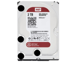 Dysk HDD WD RED 2TB 5400obr. 64MB