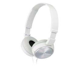 Słuchawki przewodowe Sony MDR-ZX310 Białe