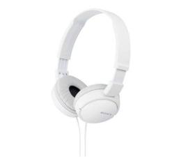 Słuchawki przewodowe Sony MDR-ZX110 Białe
