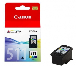 Tusz do drukarki Canon CL-511 kolor 9ml 2972B009