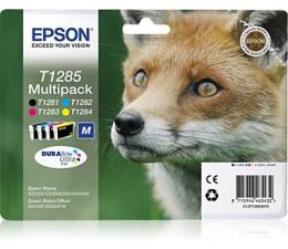 Tusz do drukarki Epson Zestaw 4 tuszów T1285 (T1281 T1282 T1283 T1284)