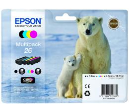 Tusz do drukarki Epson T2616 zestaw 4 tuszów CMYK (C13T26164010)