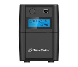 Zasilacz awaryjny (UPS) Power Walker VI 850 SE LCD (850VA/480W, 2xPL, USB, LCD, AVR)
