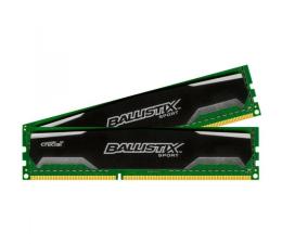 Pamięć RAM DDR3 Crucial 8GB 1600MHz Ballistix Sport CL9 (2x4GB)