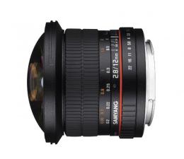 Obiektywy stałoogniskowy Samyang 12mm F2.8 ED AS Fish-Eye Nikon