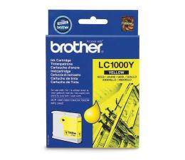 Tusz do drukarki Brother LC1000Y yellow 400str.