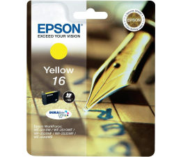 Tusz do drukarki Epson T16 yellow 3.1ml (C13T16244010)