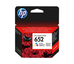 Tusz do drukarki HP 652 F6V24AE CMY color 200str.