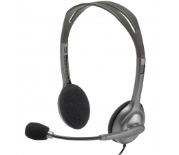 Słuchawki przewodowe Logitech H111 Headset z mikrofonem